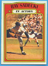 1972 Topps Baseball Cards      564     Ray Sadecki IA